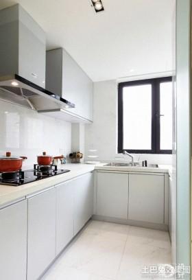简约风格家庭厨房装修效果图大全2013图片