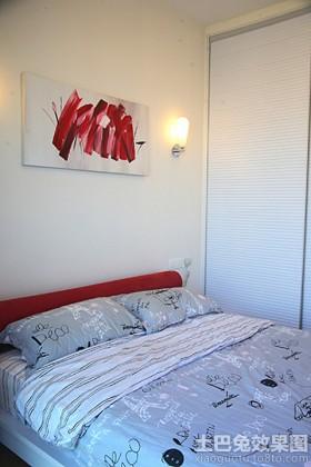 卧室床头装饰画图片欣赏