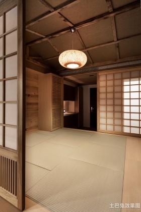 日系风格装修榻榻米效果图