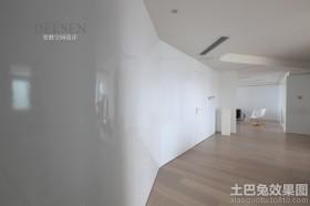 现代装修风格走廊过道效果图