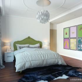欧式卧室装饰画效果图