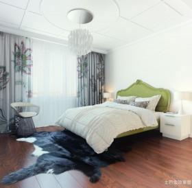 欧式卧室落地窗帘设计效果图片欣赏