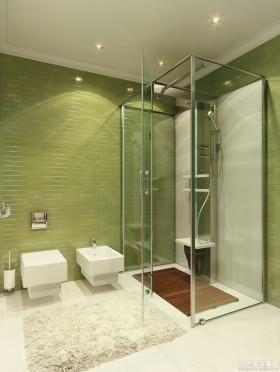 卫生间门淋浴室玻璃门装修效果图