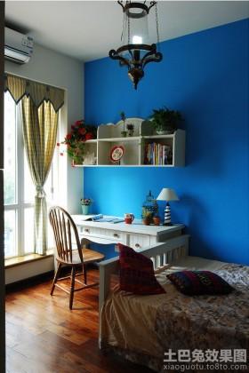 卧室书桌装修效果图片