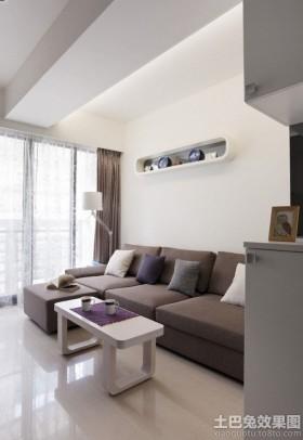 简约30平米小户型客厅装修效果图