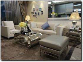 现代简约风格70平米小户型客厅装修效果图