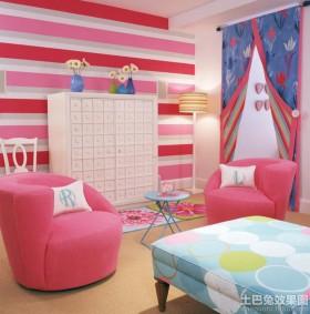 温馨儿童房组合家具图片欣赏
