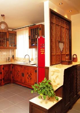东南亚风格厨房隔断装修效果图
