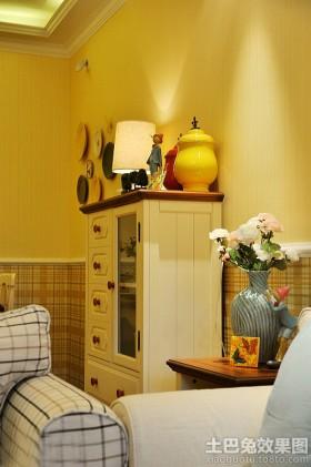 地中海风格客厅装饰效果图片