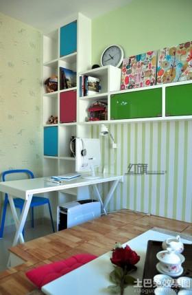 现代简约书房组合家具图片