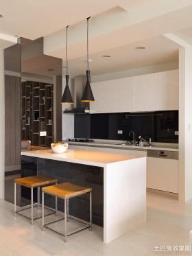 厨房吧台厨房小吧台台面设计图