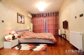 20平米现代婚房卧室装修效果图