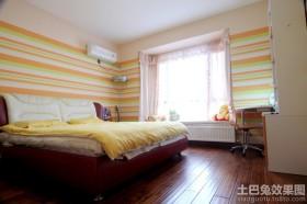 后现代卧室飘窗装修效果图