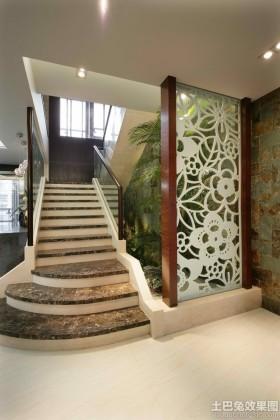 楼梯地面大理石瓷砖