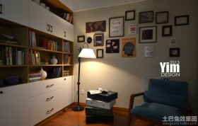 书房照片墙设计