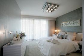 简约20平米卧室床头软包装修效果图大全