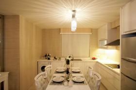 简约厨房餐厅装修效果图大全2013图片