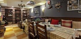 美式风格二居餐厅装修效果图