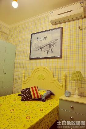 美式风格两室两厅儿童房装修效果图