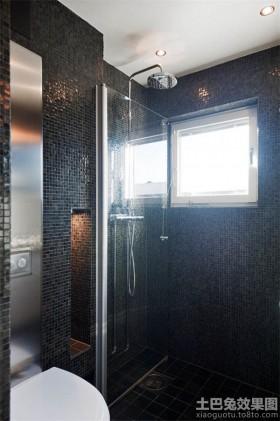 30平单身公寓装修卫生间效果图