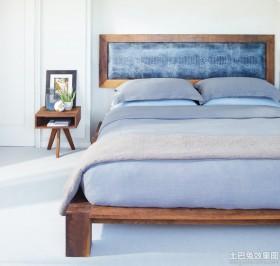 斯可馨布艺床图片