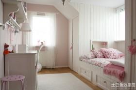 欧式带书房女生卧室装饰品图片