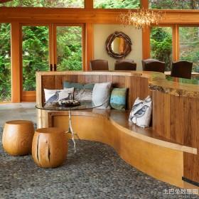 家居实木小圆凳图片