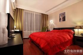 婚房二居室卧室装修效果图