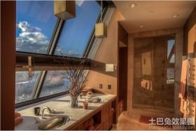 斜顶阁楼窗子装修效果图