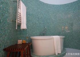 浴室玻璃马赛克材质贴图