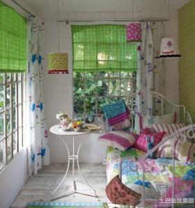 复古混搭风格小儿童房装修效果图