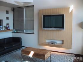 日式简约电视背景墙装修效果图大全