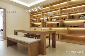 日式简约餐厅装修效果图欣赏