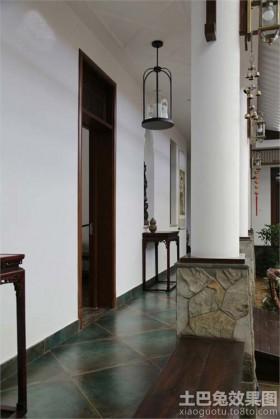 混搭风格两室两厅玄关效果图