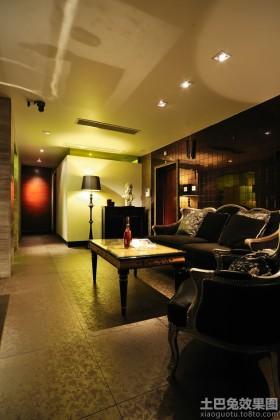 港式风格70平米小户型客厅装修效果图片
