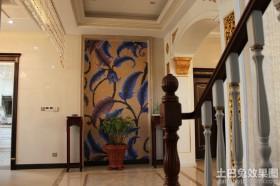 门厅马赛克背景墙贴图图片