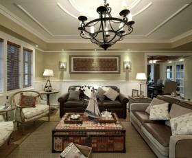 最新客厅吊顶效果图大全图片