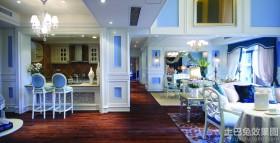 地中海风格别墅室内装修效果图欣赏