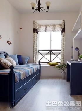 地中海风格家庭小书房装修效果图