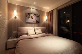 简约风格婚房卧室装修效果图