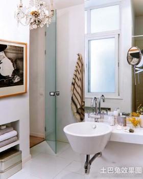 卫生间整体洗手盆效果图