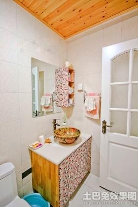 家装卫生间整体洗手盆图片