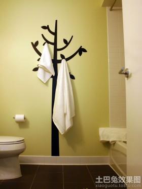 卫生间立体墙贴效果图