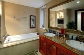 中西混搭家庭卫生间装修效果图片
