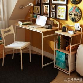 家装书房简易书架图片