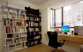 阳光书房书架效果图片