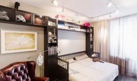现代风格40平米小户型卧室效果图