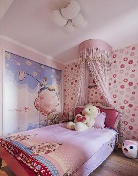温馨80平米二居儿童房装修效果图