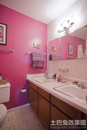 家庭卫生间挂件效果图片