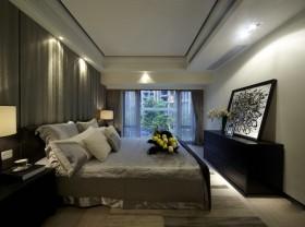 现代二居卧室室内装饰效果图